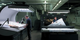 New printing Machine Man Roland R900 XXL